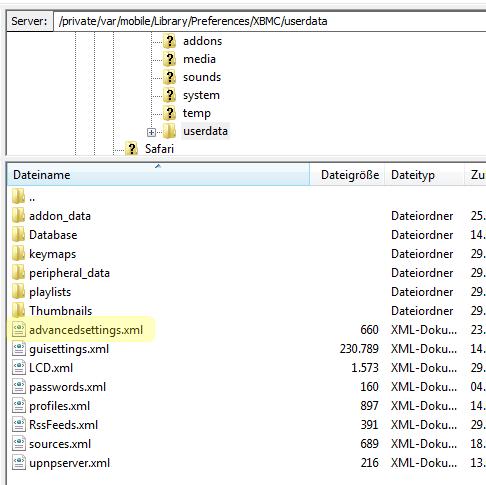 advancedsettings.xml  xbmc for windows