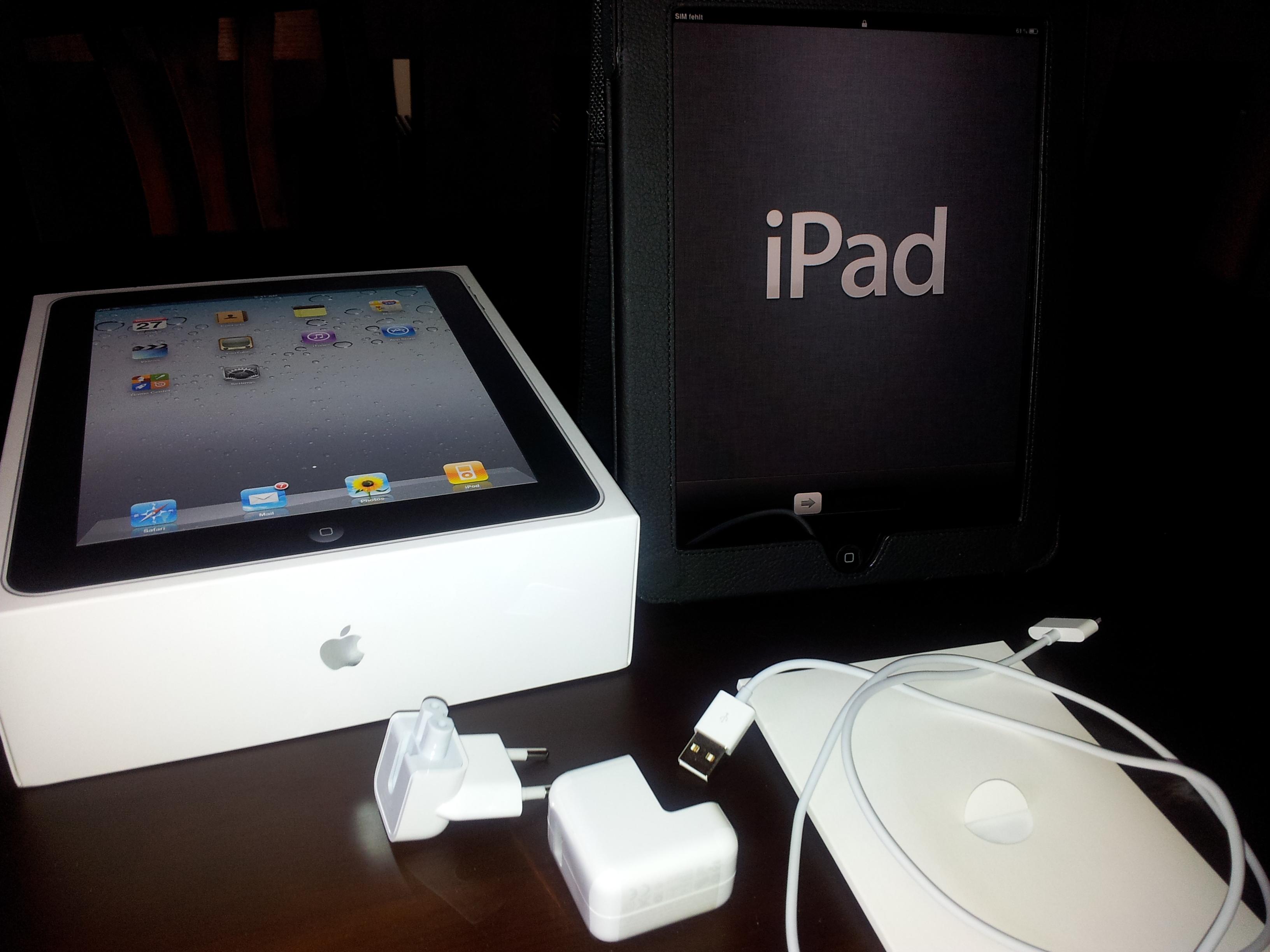 verkaufe ein apple ipad der ersten generation mit 32 gb. Black Bedroom Furniture Sets. Home Design Ideas