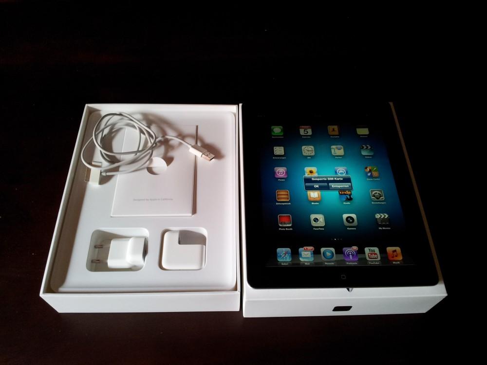 verkaufe apple ipad 3 generation wi fi cellular 4g. Black Bedroom Furniture Sets. Home Design Ideas