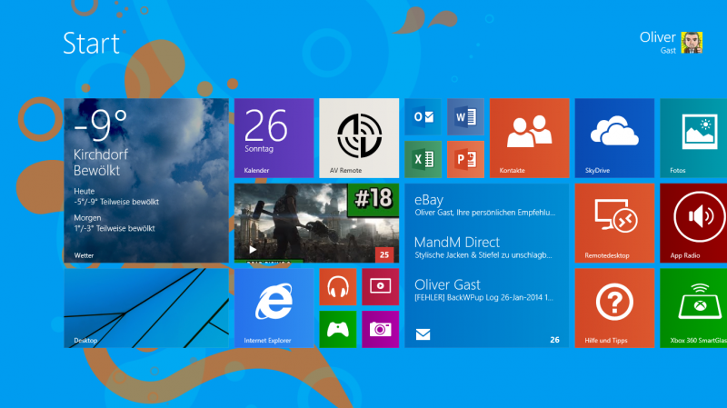 Windows 8 Modern UI Style