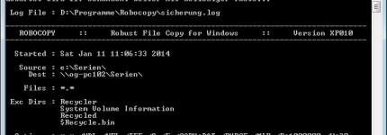 "Windows-Tool ""Robocopy"""