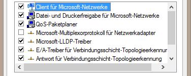 Einstellungen des Netzwerkadapters konfigurieren