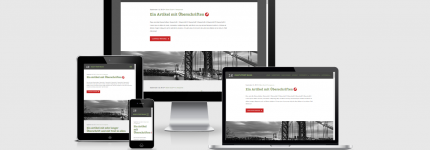 WordPress Theme ACHTZEHN
